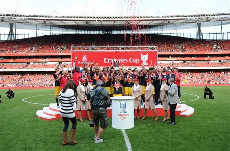 emirates cup win tickets to see arsenal at the emirates cup 2013