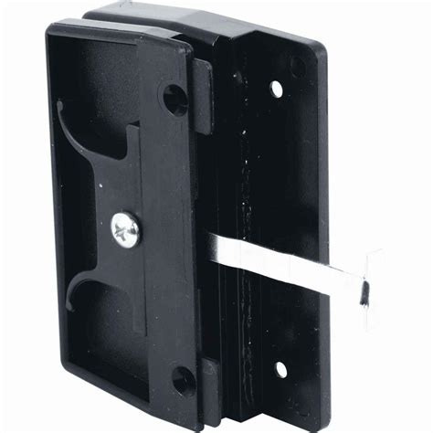 prime line mortise style sliding screen door latch and pull a 145 the home depot