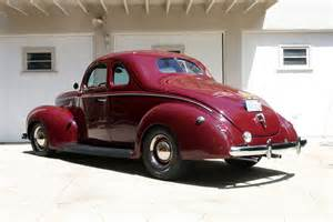 a 1940 ford coupe inspired by rod history rod