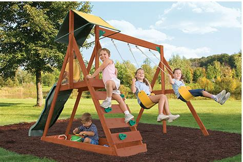 small swing sets for small backyard sunview swingset installer the assembly pros llc
