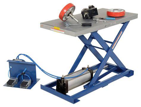 pneumatic scissor lift table