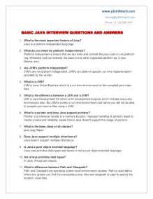 basic java important questions and answers to