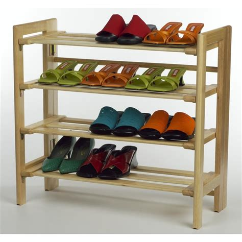 furniture functional outdoor shoe rack with simple and