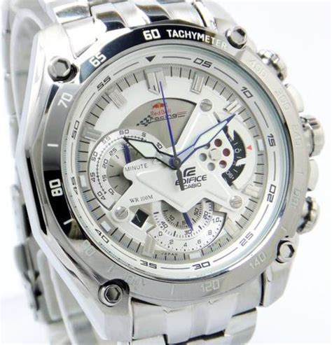 Casio Edifice Ef 550 1avdf Silver Black s watches casio edifice bull racing silver ef 550d 1av special for sale