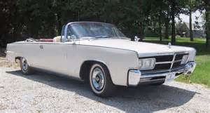 1965 Chrysler Convertible 1965 Chrysler Imperial Convertible Significant Cars Inc