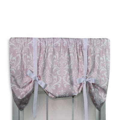 pink tie up curtains buy pashmina pink valance from bed bath beyond