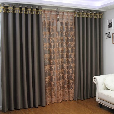 make blackout curtains plain grey curtains create a pure space for you
