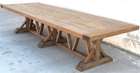 Farmers Tables by Vintage Oak Farm Table For Sale At 1stdibs