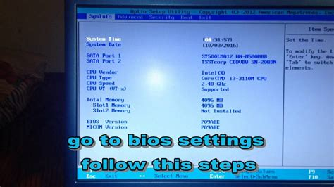 reset bios notebook samsung how to boot from usb drive in samsung laptop youtube
