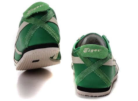 Asics Onitsuka Tiger Mexico 66 Deluxe Warna Green Green Offwh cheap asics mexico 66 shoes green white thailand