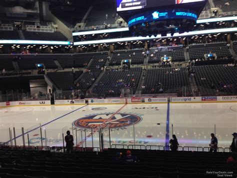 Barclays Center Section 24 New York Islanders