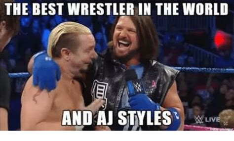 Aj Styles Memes - funny world wrestling entertainment memes of 2016 on sizzle