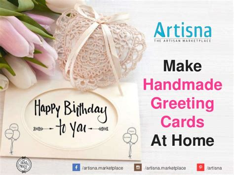 how to make greeting cards at home how to make handmade greeting cards at home
