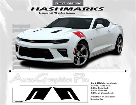 Sticker Decal Striping Dekal Stiker Klx 149 Glossy 2016 2017 2018 chevy camaro hashmark to fender