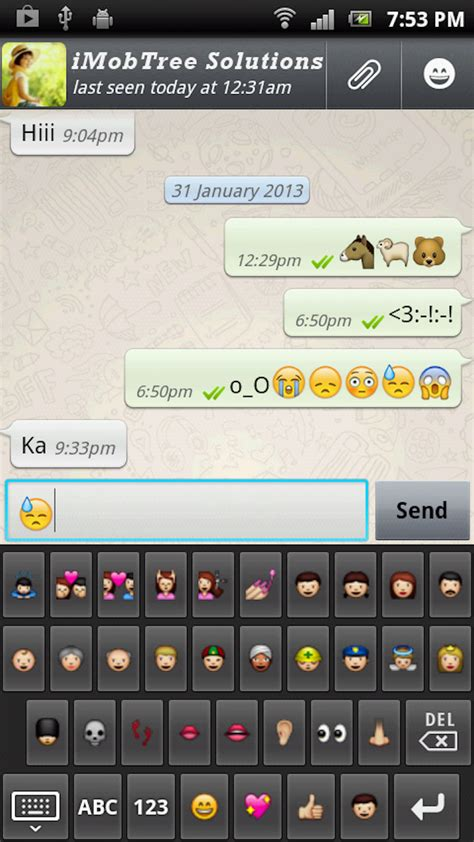 emoji keyboard android emoji keyboard for android ca appstore for android