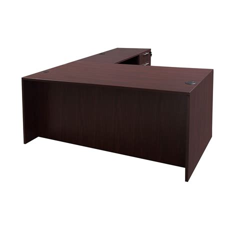 Mahogany L Shaped Desk Everyday 30 215 60 20 215 42 Laminate L Shape Desk Mahogany