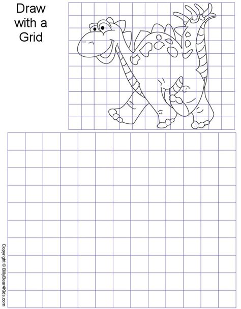 the artist s workbook easy to follow lessons for creating your own characters grid worksheets gridart gif 42315 bytes