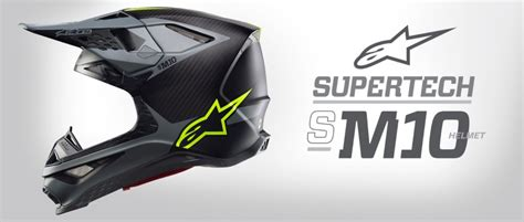 lightest motocross helmet alpinestars supertech m10 mx helmet cycle