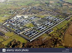 Aerial view of Maze Prison, Northern Ireland Stock Photo ... Hunger Strike Ireland