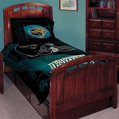 nfl bedroom decor jacksonville jaguars nfl twin comforter set 63 quot x 86 quot