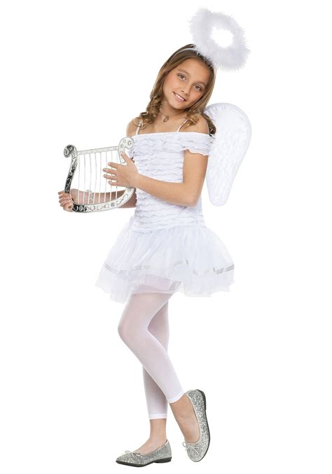 preteen angel costume girls little angel costume
