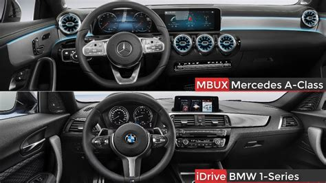 2019 Bmw 1 Series Interior by 2019 Mercedes A Class Vs Bmw 1 Series Interior Design