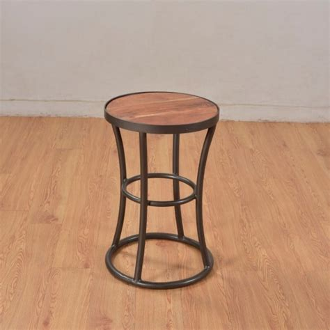iron and wood side table iron and wood side table nadeau marietta