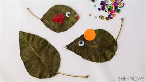 leaf craft for fall leaf crafts for who the outdoors