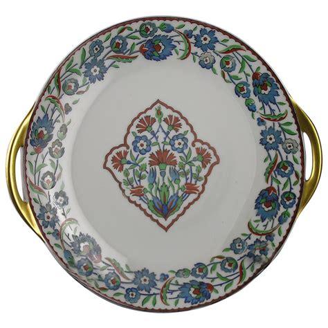 Payung Terbalik Motif Flower Handle C No 1 haviland limoges iznik islamic turkish floral motif handled plate from darkflowers on ruby