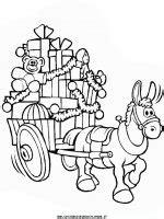 giochi di babbo natale porta i regali disegni di natale babbo natale sulla slitta porta i
