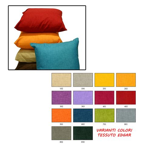 cuscini da arredo cuscino arredo bombato edgar tinta unita 65x65 cm