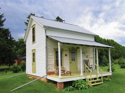 smaller homes trout river log cabin small house bliss