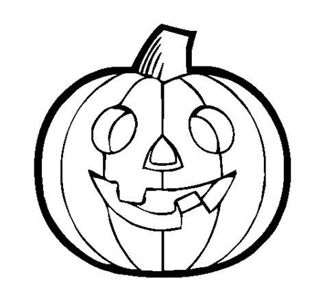 dibujos de calabazas para halloween dibujo de calabaza iv para colorear dibujos net