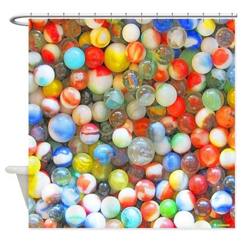 colorful marbles vintage colorful marbles shower curtain by rebeccakorpita