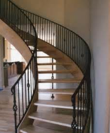 Custom Staircase Design Custom Wood Stair With Open Risers By Stair
