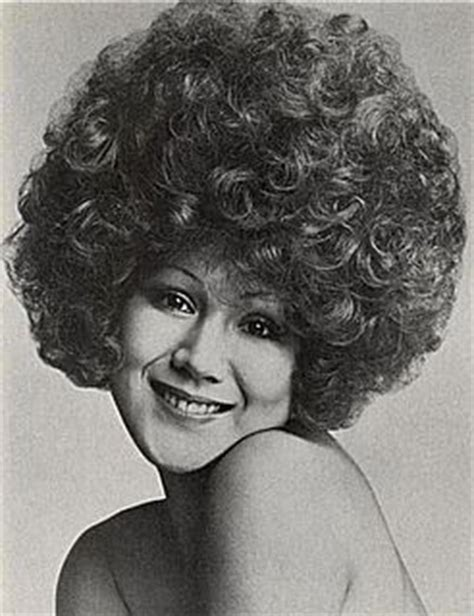 perms in 1960s bouffed perm curls pinterest perms
