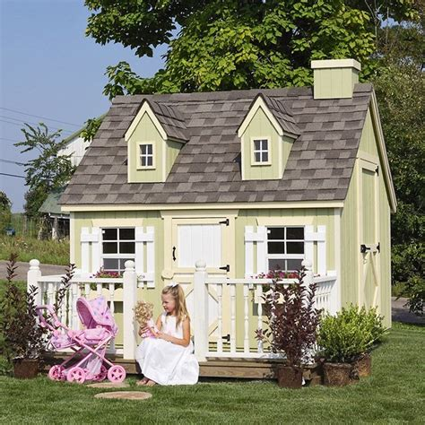backyard cottage playhouse little cottage cape cod wood playhouse contemporary