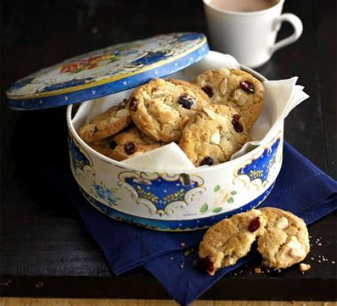 Contok Notulen by Macadamia Cranberry American Cookies Recipe Food