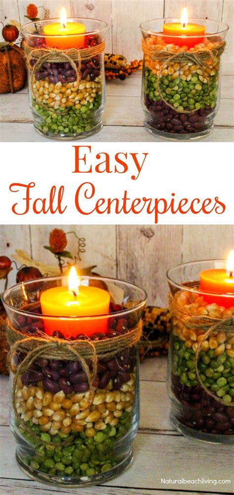 fall table decorations easy easy fall table centerpieces harvest centerpieces