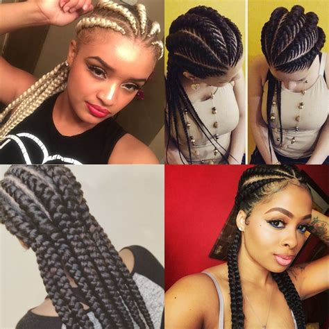 plated strait back hairstyles 16 photos of ghana braids one of summer s hottest trends