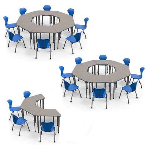 classroom layout with trapezoid tables marco group classroom set 20 apex trapezoid student desks