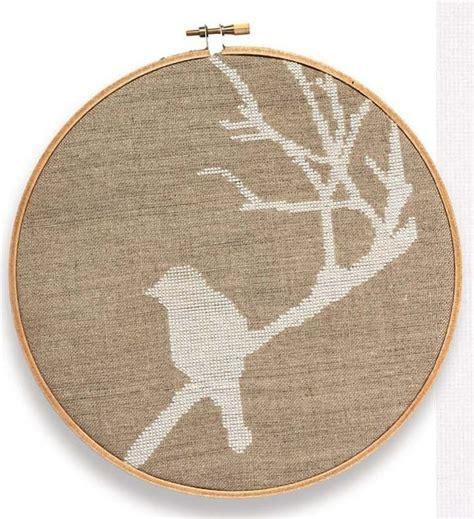 Bird On A Branch Cross Stitch 183 Extract From Cross Stitch