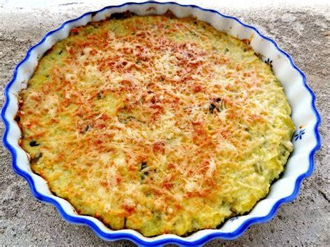 idées de plats à cuisiner recette du gratin de courgettes et poireaux au millet