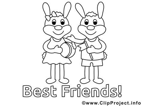 friends coloring sheet