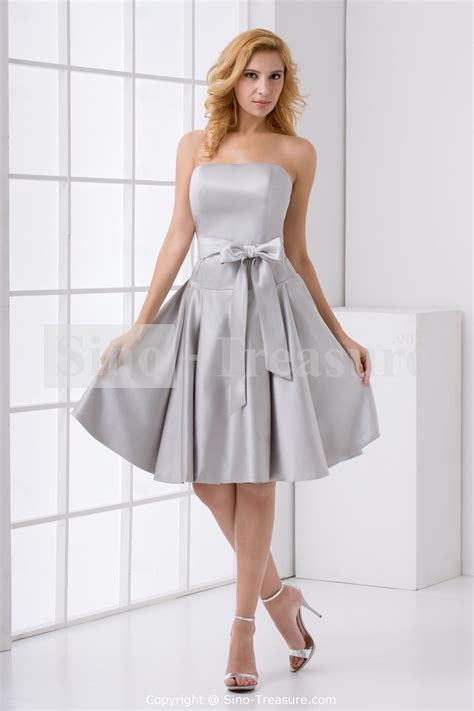 Silver Bridesmaid Dress by Silver Bridesmaid Gowns Bridal Gowns