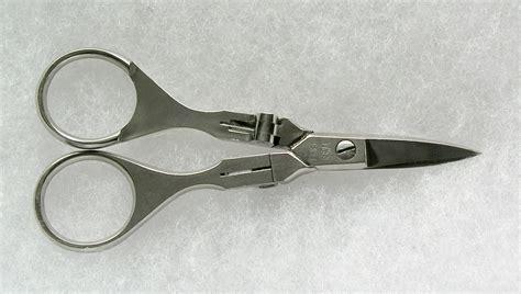 folding scissors j wiss and sons co all shears item fs 4 folding scissors