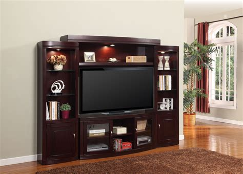 carlton entertainment wall units 4 pc entertainment wall premier biscayne 4pc entertainment wall unit from parker