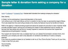 Write A Letter Requesting Sponsorship A Letter And Letters Relay For Donation Letter Template