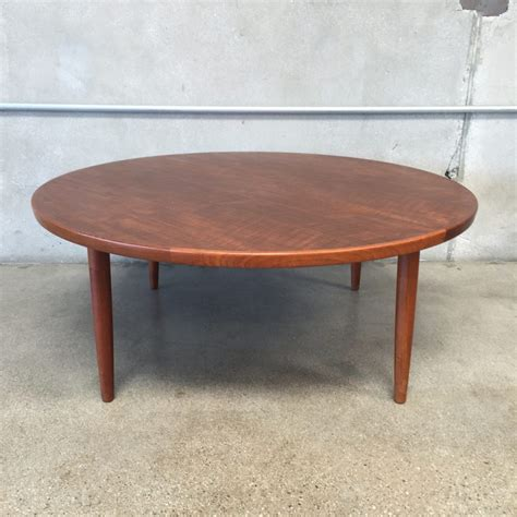 furniture grete jalk teak coffee table midcenturysanjose