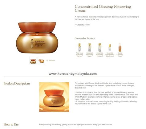 Sulwhasoo Concentrate Ginseng Ren 60ml sulwhasoo concentrated ginseng renewing best